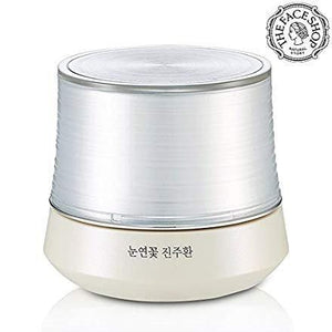 The Face Shop Yehwadam Snow Lotus Brightening Pearl Capsule Cream, Traditional Korean Herbs And Flowers For Anti-Aging Treatment (50 g / 1.76 oz)
