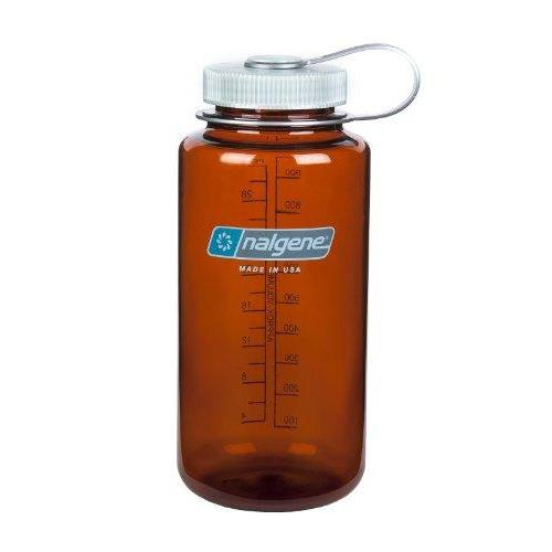 Nalgene Tritan Wide Mouth BPA-Free Water Bottle, Rustic Orange, 32 oz Sport & Recreation Nalgene