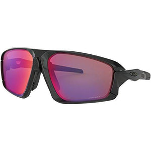 Oakley Men's Field Jacket Sunglasses,OS,Polished Black/Black