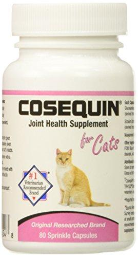 2 PACK Cosequin for Cats 80 count (160 CAPSULES) Animal Wellness Nutramax