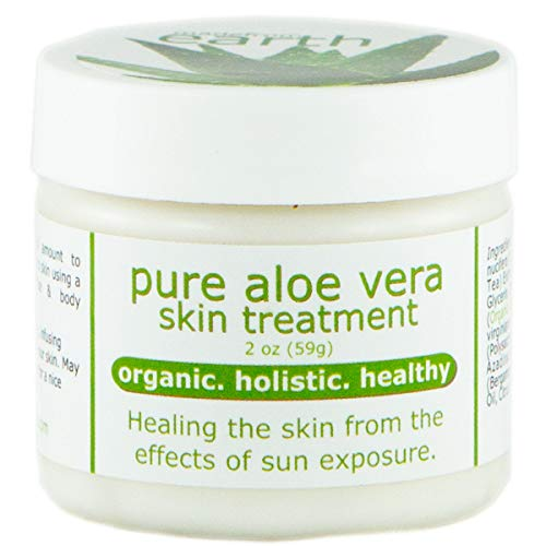 Eczema Treatment - Organic Aloe Vera , 2 oz