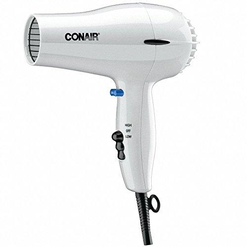 Conair 047W White 2 Heat / 2 Speed Hair Dryer - 1600W