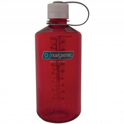 Nalgene Tritan 1-Quart Narrow Mouth BPA-Free Water Bottle, Outdoor Red Sport & Recreation Nalgene