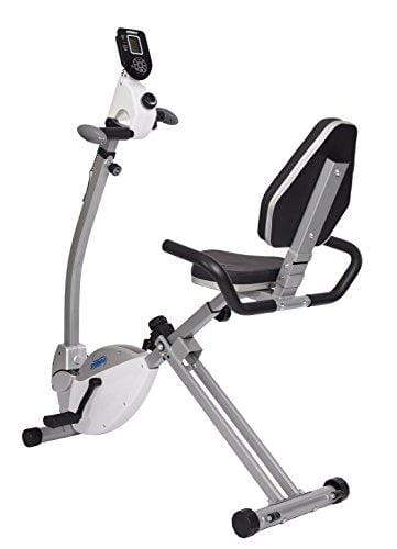 Stamina Recumbent Exercise Bike with Upper Body Exerciser Sport & Recreation Stamina