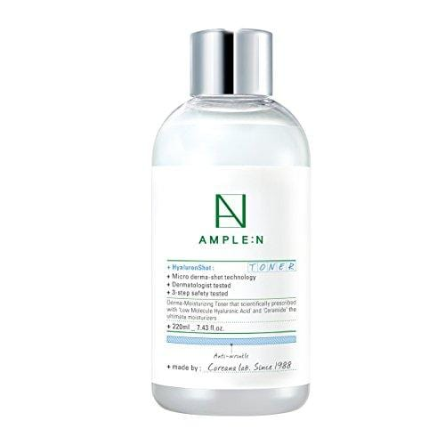 [AMPLE:N] Hyaluron Shot Toner 7.43 fl. oz. (220ml) - Moisture Coating Boosting Toner