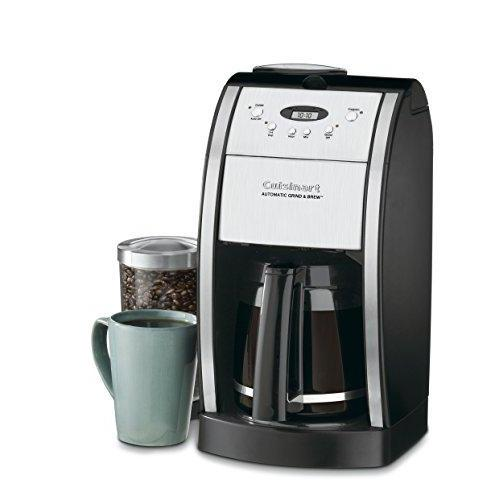 Cuisinart DGB-550BK 12 Cup Automatic Coffeemaker Grind Kitchen & Dining Cuisinart
