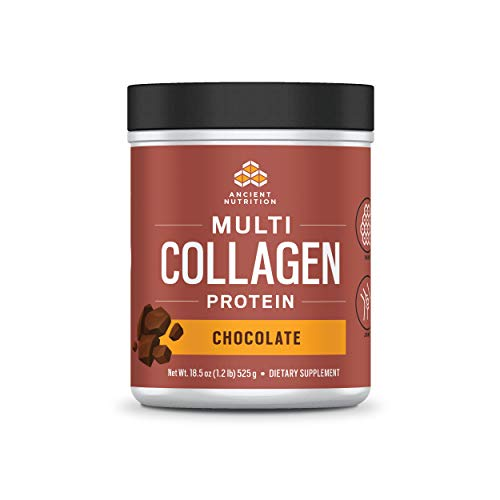 Ancient Nutrition Multi Collagen Protein Powder, Chocolate Flavor - 40 Servings