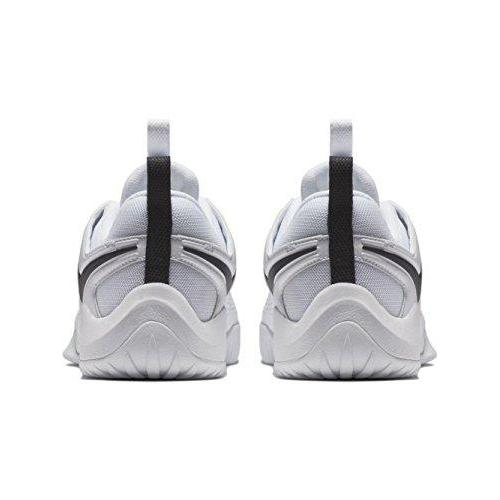 NIKE Women's Zoom Hyperface 2 Volleyball Shoes (8.5 B(M) US, White/Black)