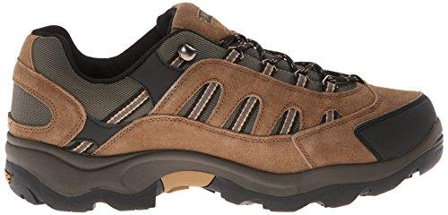 Hi-Tec Men's Bandera Low Waterproof Hiking Boot,Bone/Brown/Mustard,11 M US