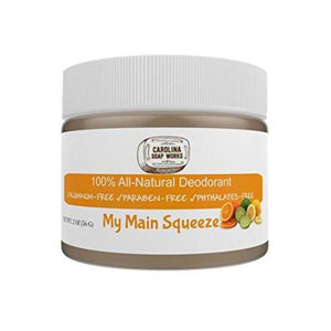 All Natural My Main Squeeze Deodorant, by Carolina Soap Works
