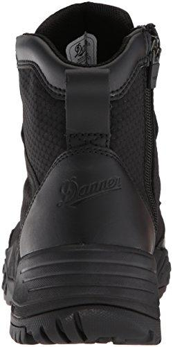 "Danner Men's Scorch Side-Zip 6"" Military and Tactical Boot, Black Hot, 9 D US"