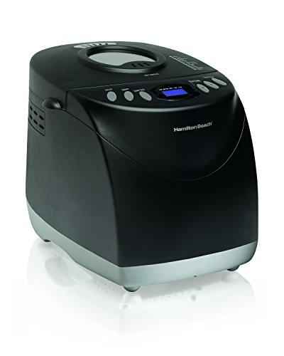 Bread Maker, 2 Pound Capacity Bread Maker machine, Gluten Free Setting, Programmable, Black