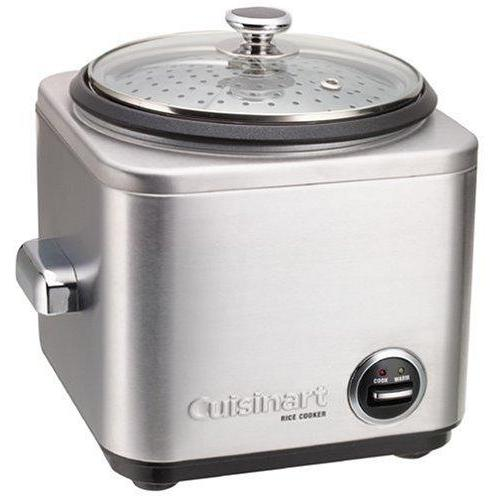 Cuisinart CRC-800 8-Cup Rice Cooker, Stainless Steel Exterior Kitchen & Dining Cuisinart