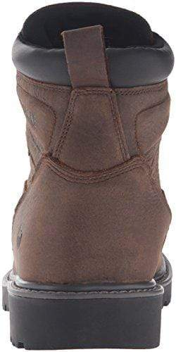 6558687f8ca Wolverine Men's Floorhand 6 Inch Waterproof Soft Toe-M Work Boot, Dark  Brown, 9 M US