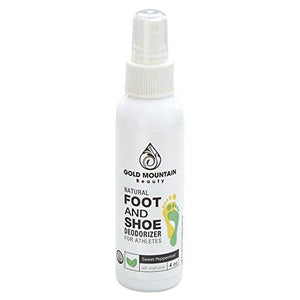 All Natural Shoe Deodorizer Spray and Foot Odor Eliminator