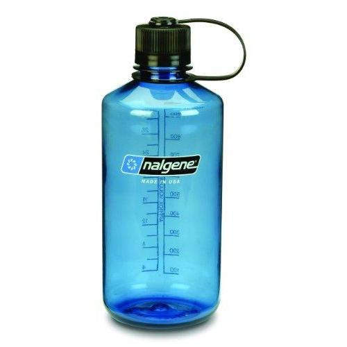 Nalgene Tritan 1-Quart Narrow Mouth BPA-Free Water Bottle, Slate Blue Sport & Recreation Nalgene