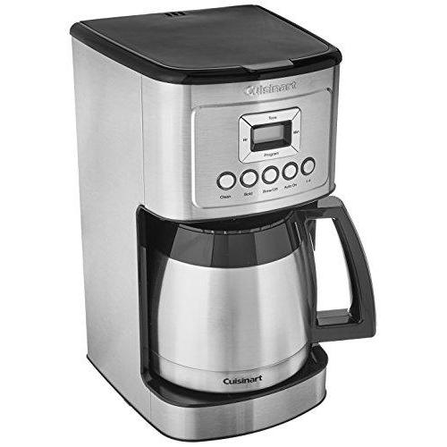 Cuisinart DCC-3400 12-Cup Programmable Thermal Coffeemaker, Stainless Steel Kitchen & Dining Cuisinart