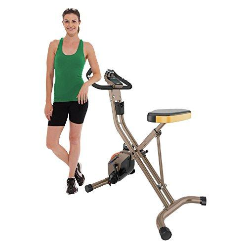 Exerpeutic GOLD 500 XLS Foldable Upright Bike, 400 lbs Sport & Recreation Exerpeutic