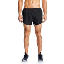 Baleaf Men's Quick-Dry Lightweight Pace Running Shorts Black Size S