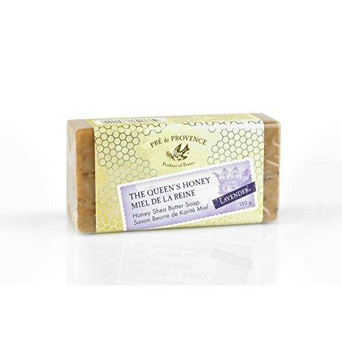 Pre de Provence Queen's Honey Shea Butter Enriched 150 Gram Large French Soap Bar - Lavender Honey