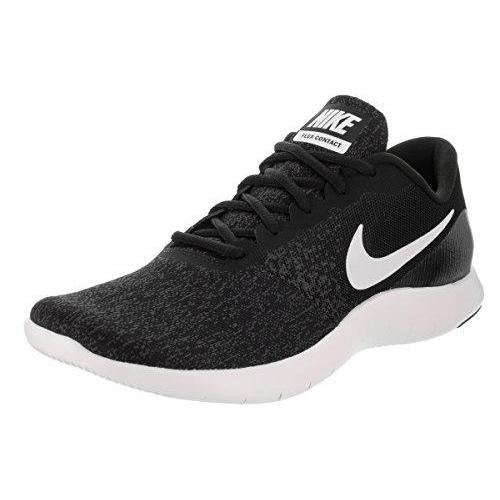Nike Womens Flex Contact Black/White/Anthracite Running Shoe 7.5 Women US Shoes for Women NIKE