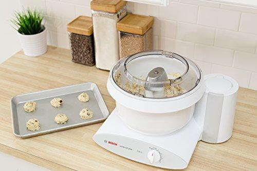 Bosch MUM6N10UC Universal Plus Stand Mixer, 800 Watt, 6.5-Quarts with Bowl Scraper and Cake Paddles Kitchen & Dining Bosch
