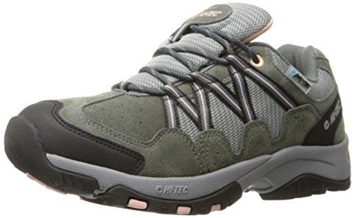 Hi-Tec Women's Florence Low WP-W, Charcoal/Blush, 9.5 M US