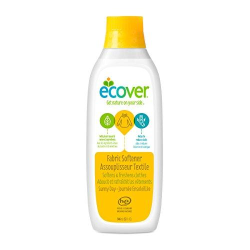 Ecover Fabric Softener Liquid, Sunny Day, 32 Ounce (12 Count) Fabric Softener Ecover
