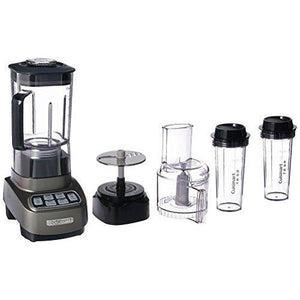 BFP-650GM Velocity Ultra Trio 1 HP Blender/Food Processor with Travel Cups, Gun Metal