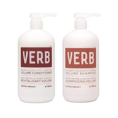Verb Volume Shampoo & Conditioner Set - Weightless Lift + Soften 1L