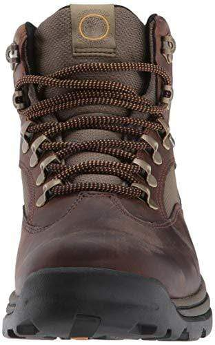 Timberland Men's Chocorua Trail Mid Waterproof, Brown/Green, 10 D-Medium