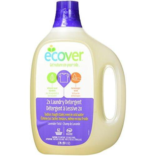 Ecover Laundry Detergent, Lavender Field, 93 Ounce (Pack 4) Laundry Detergent Ecover