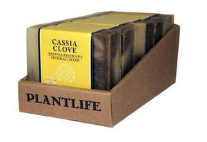 Value 6 Pack- Cassia Clove 100% Pure & Natural Aromatherapy Herbal Soap- 4 oz each
