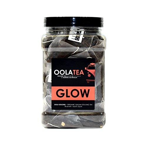 GLOW 50 Count | Certified Organic Oolong | Supports Healthy Skin | Promotes Weight Loss Food & Drink OolaTea