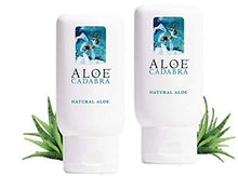 Aloe Cadabra Organic Personal Lubricant and Natural Vaginal Moisturizer with 95% Aloe Vera, Natural Aloe, 2.5 Ounce (Pack of 2)