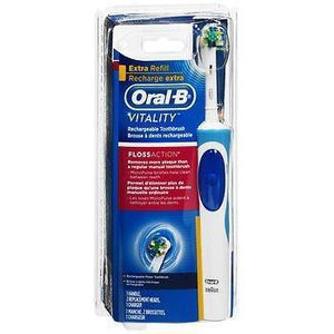 Oral-B Vitality Floss Action Rechargeable Electric Toothbrush - Each, Pack of 4