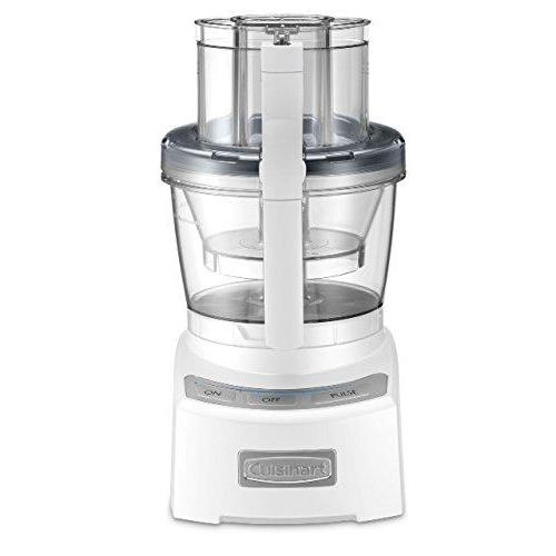 Cuisinart FP-12N Elite Collection Food Processor, White Kitchen & Dining Cuisinart