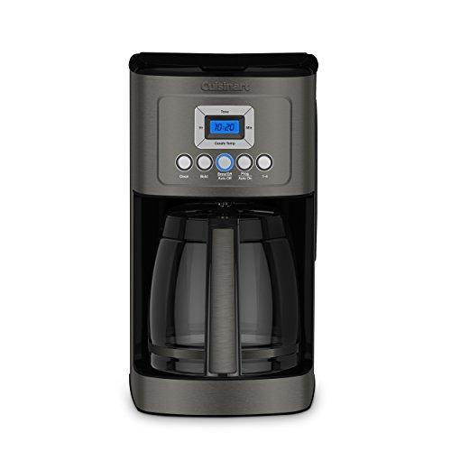 Cuisinart DCC-3200BKS Perfectemp Coffee Maker, Black Stainless Steel Kitchen & Dining Cuisinart