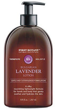 Lavender Oil Crème lotion 9 fl oz - Organic, Moisturizing, Hydrating, Anti aging and Massage lotion - the best body lotion for men and women that works on your face, neck, hands, hairs and feet.