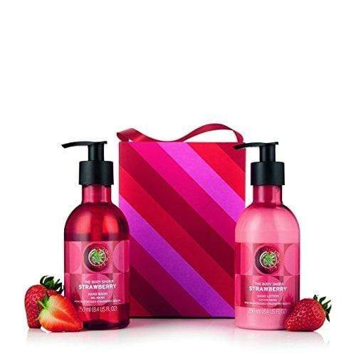 The Body Shop Strawberry Hand Duo Gift Set, 2pc Holiday Exclusive Gift Set