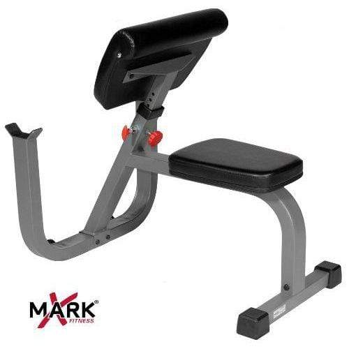 XMark Seated Preacher Curl Weight Bench XM-4436 Sport & Recreation XMark Fitness