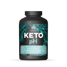 Ancient Nutrition KETOpH Alkalizing Blend, 180 Capsules — pH Balance Supplement Designed for The Keto Diet