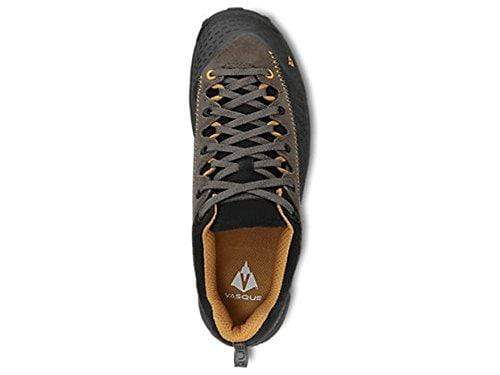 "Vasque Juxt 4"" Hiking Shoes Leather Peat and Sudan Brown Men's 11 Medium"