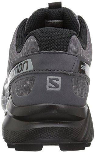 Salomon Men's Speedcross 4 Trail Running Shoe, Dark Cloud, 10.5 Wide US