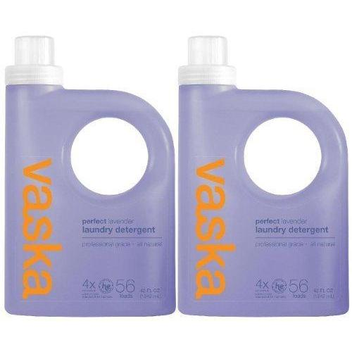 Vaska Perfect Laundry Detergent - 42 oz - Lavender - 4x Concentrated - 2 pk by Vaska