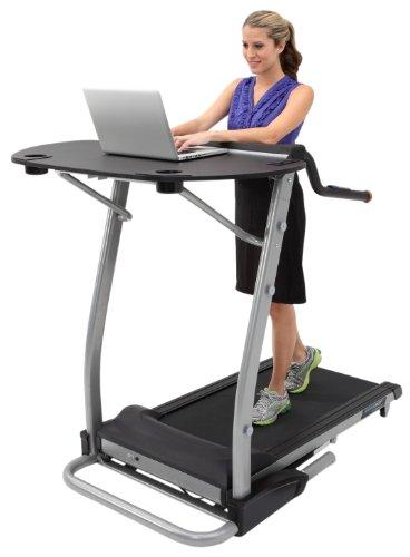 Exerpeutic 2000 WorkFit High Capacity Desk Station Treadmill Sport & Recreation Exerpeutic