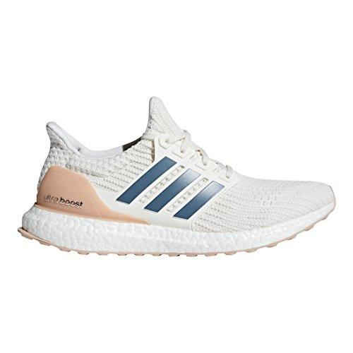 adidas Men's Ultraboost Running Shoe, Cloud White/Tech Ink/Ash Pearl, 14 M US
