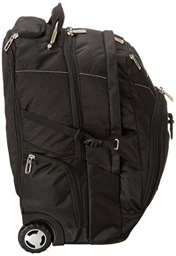 High Sierra XBT Laptop Wheeled Backpack, Black