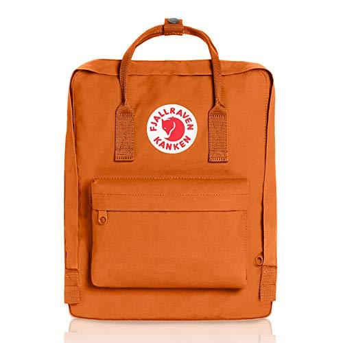 Fjallraven - Kanken Classic Pack, Heritage and Responsibility Since 1960, One Size,Brick