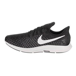 wholesale dealer 6ecdb caabb NIKE Men s Air Zoom Pegasus 35 Black White Gunsmoke Oil Grey Running Shoe  10.5 Men